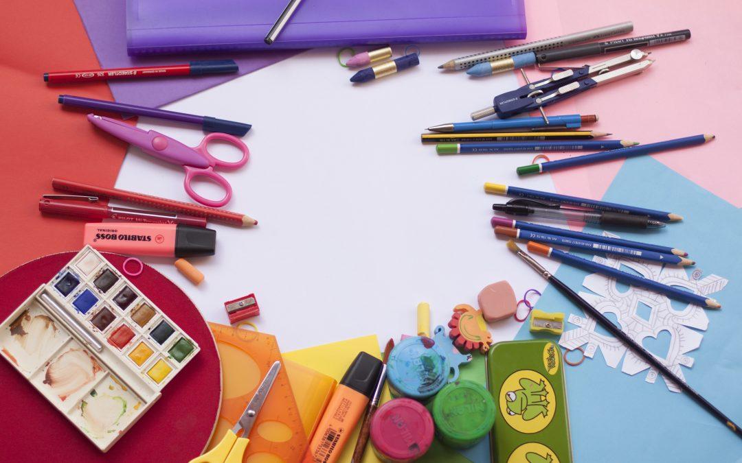Potrebščine za 1. šolski dan