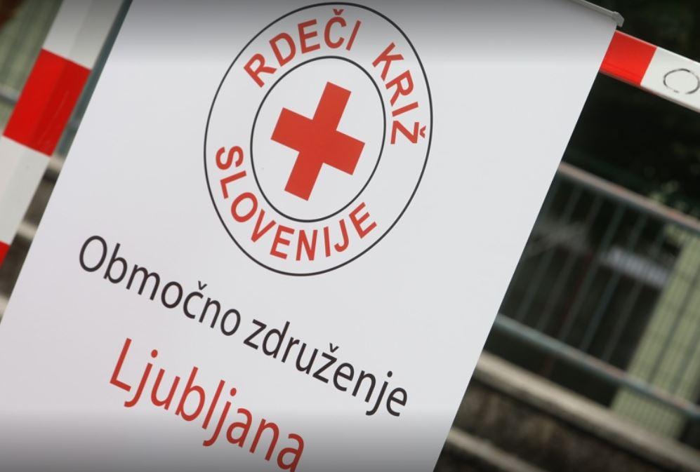 Sporočilo Rdečega križa Slovenije
